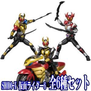 全6種フルセット (フルコンプ) [食玩 SHODO-X 仮面ライダー6] バンダイ|akism
