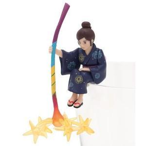 花火のフチ子 【 コップのフチ子 SUMMER 】 奇譚クラブ カプセル|akism