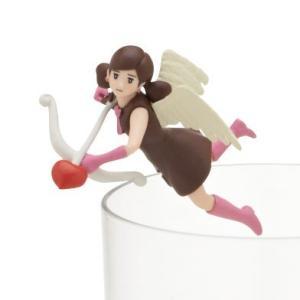 キューピッドのフチ子 (チョコレート) 【 コップのフチに舞い降りた恋の女神 コップのフチ子 ハートチョコ 】 奇譚クラブ カプセル|akism