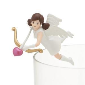 キューピッドのフチ子 (ホワイト) 【 コップのフチに舞い降りた恋の女神 コップのフチ子 ハートチョコ 】 奇譚クラブ カプセル|akism