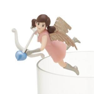 キューピッドのフチ子 (ピンク) 【 コップのフチに舞い降りた恋の女神 コップのフチ子 ハートチョコ 】 奇譚クラブ カプセル|akism