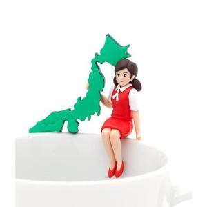 日本列島のフチ子 【 コップのフチ子 JAPAN 】 奇譚クラブ カプセル|akism