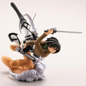 立体機動の戦士 (ミカサ) 【 カプセルQキャラクターズ 進撃の巨人 】 海洋堂|akism