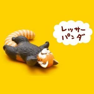 レッサーパンダ 【 ガチャポン パンダの穴 Zoo Zoo Zoo 第1弾 もうしら寝 】 タカラトミーアーツ akism