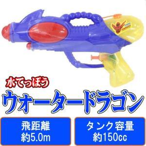 ウォータードラゴン (青) 【 水鉄砲 】 早川玩具 飛距離:約5.0m タンク容量:約150cc (水てっぽう ウォーターガン)|akism