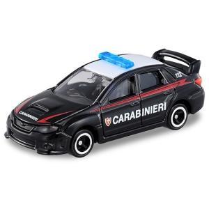 スバル インプレッサ WRX STI 4door イタリア警察仕様 [トミカ AEON No.44] タカラトミー (イオン限定/第44弾)|akism