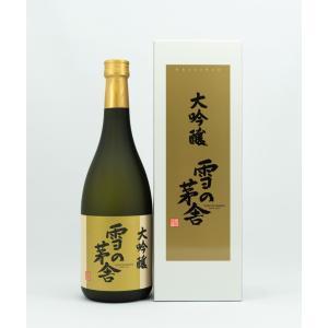 齋彌酒造 雪の茅舎 大吟醸 720ml|akita-bussan