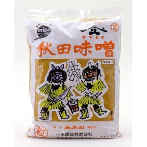 ヤマキウ 秋田味噌 なまはげ(粒味噌) 1kg|akita-bussan