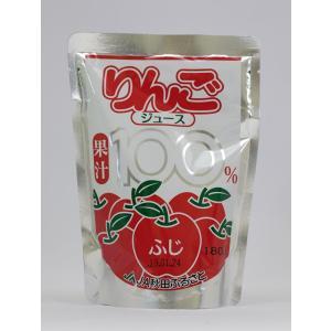 秋田ふるさと農業協同組合 添加物不使用  りんごジュース ふじ 180g|akita-bussan