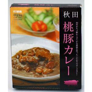 秋田味商 桃豚カレー 中辛|akita-bussan