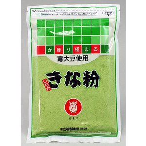 淡路製粉 白兎印 いなか青大豆きな粉|akita-bussan