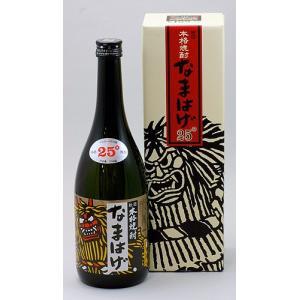 秋田清酒 本格焼酎 なまはげ(25度)|akita-bussan