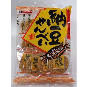 秋田いなふく米菓 納豆せんべい|akita-bussan
