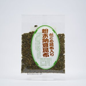 竹中商店 粉末納豆昆布|akita-bussan