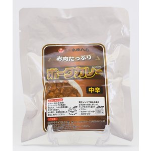 秋田高原ハム ポークカレー(中辛)200g|akita-bussan