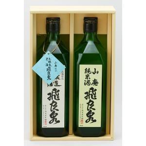 飛良泉本舗 酒のいづみセット SI-2 720ml 2本|akita-bussan