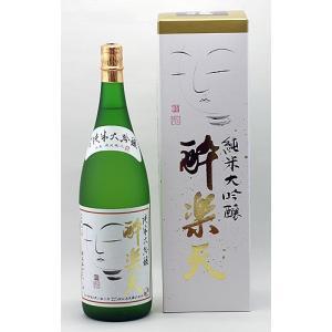 秋田酒造 純米大吟醸 酔楽天 1.8L akita-bussan
