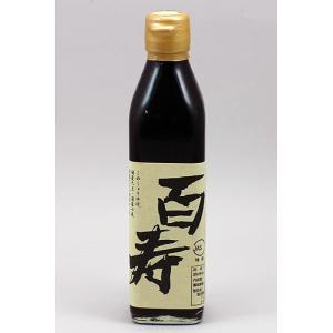 石孫本店 丸大豆天然醸造醤油 百寿 300ml|akita-bussan