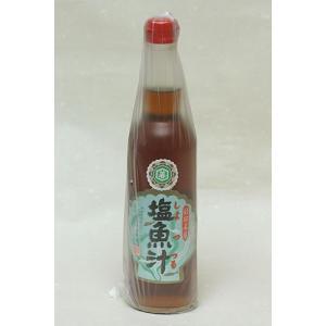 仙葉商店 塩魚汁(しょっつる) 550ml|akita-bussan
