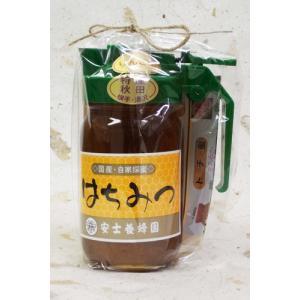 安士養蜂園 りんご蜜 300g ピッチャー入|akita-bussan