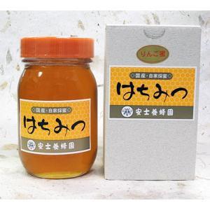 安士養蜂園 りんご蜜 600g 化粧箱入|akita-bussan