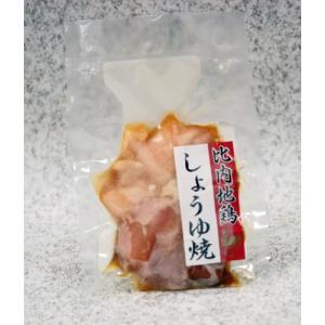 【冷凍便発送】比内どり食品有限会社 比内地鶏しょうゆ焼|akita-bussan