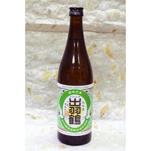 秋田清酒 出羽鶴 生もと仕込純米酒 720ml カートンなし|akita-bussan