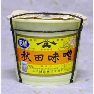 ヤマキウ 吟醸 秋田味噌 4kg|akita-bussan