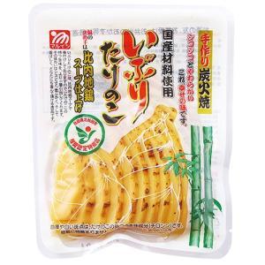 マルイシ食品 いぶりたけのこスライス|akita-bussan