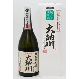 備前酒造 特別純米酒 大納川    (だいながわ) 720ml|akita-bussan