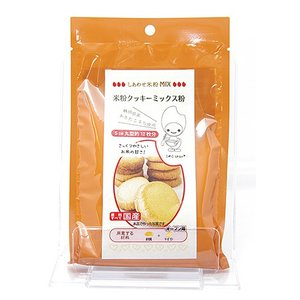 淡路製粉 米粉クッキーミックス粉 120g 秋田県産あきたこまち使用|akita-bussan