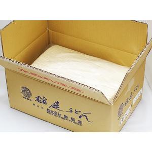 【送料込】無限堂  業務用稲庭饂飩 10kg(長さ34cm)|akita-bussan