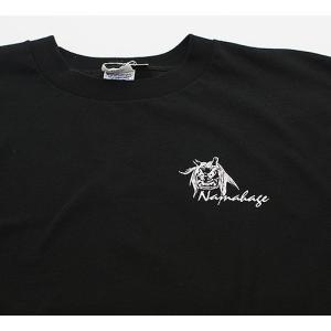 佐々木民芸 なまはげTシャツ黒(サイズM・L)|akita-bussan|02
