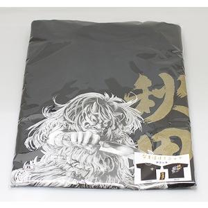 なまはげTシャツ黒(サイズM・L・XL) akita-bussan