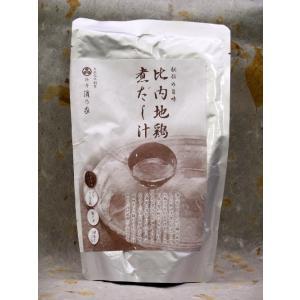 料亭 濱乃家 比内地鶏 煮出し汁 450ml 濃縮2倍|akita-bussan