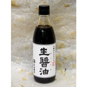 安藤醸造 生醤油  360ml|akita-bussan