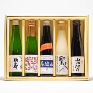 秋田の地酒 のみくらべCセット   180ml×5本セット|akita-bussan
