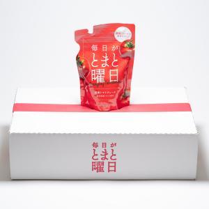 ダイセン創農 秋田県産トマト100% 濃縮トマトジュース「毎日がトマト曜日」150g×20P|akita-bussan