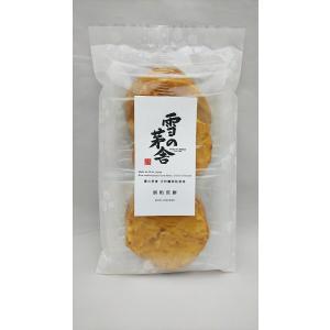 かなえや 雪の茅舎酒粕煎餅 5枚|akita-bussan