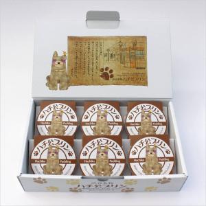 ハチ公プリン 6個入り 比内地鶏の卵を使った濃厚プリン[四季菜]|akitagokoro