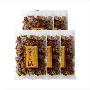 あつみのかりん糖 5袋 程よい甘さがクセになる!幻の秋田銘菓[渥美菓子店]|akitagokoro
