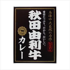 秋田由利牛カレー(200g×1個)日本最高峰の牛肉を贅沢に使った高級カレー[秋田かまくらミート]|akitagokoro