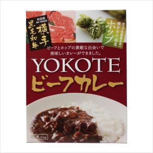 YOKOTEビーフカレー(200g×1個)横手黒毛和牛の極上ビーフカレー[秋田かまくらミート]|akitagokoro