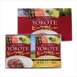YOKOTEビーフカレー 2個ギフトセット 横手黒毛和牛の極上ビーフカレー[秋田かまくらミート]|akitagokoro