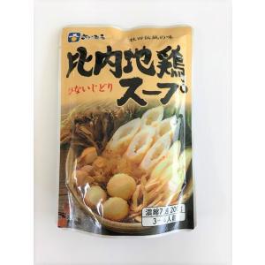 秋田伝統の味 比内地鶏スープ きりたんぽ鍋 鍋スープ ご当地【ツバサ】|akitagokoro