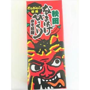 秋田なまはげびっくり煎餅 みそ煎餅 とうがらし使用 ご当地 お土産 味噌味【ツバサ】|akitagokoro