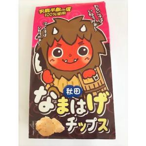 秋田なまはげチップス 塩味 男鹿半島の塩 お子様菓子 人気 可愛い【ツバサ】|akitagokoro