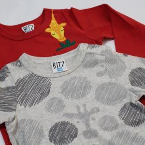 子供服 男の子 長袖 2柄2PTシャツ ビッツ BIT'Z 90cm 95cm 100cm 110cm 120cm 55%OFF メール便OK FW141|akitaoutlet|03