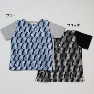 子供服 男の子 女の子 トップス ペンギン半袖Tシャツ ブルーアズール 80cm 95cm 100cm 50%OFF メール便OK RS31|akitaoutlet