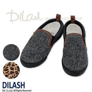 子供用靴 男の子 女の子 ツイードスリッポン ディラッシュ DILASH 14cm 15cm 18c...